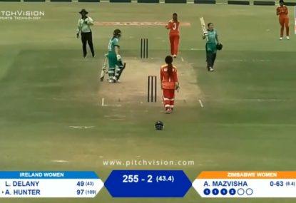 Irish teenager becomes the youngest ODI centurion on her birthday
