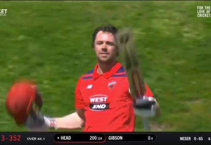 Travis Head makes a statement with absolute troppo innings of 230 from 127 balls