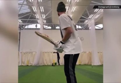Ben Stokes' seriously rusty net session still leaves England fans daring to dream