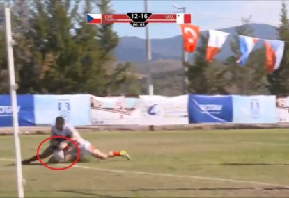Maltese rugby league horrified by one of the year's worst ref howlers