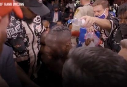 New footage reveals another act of disrespect from Deontay Wilder after loss to Tyson Fury