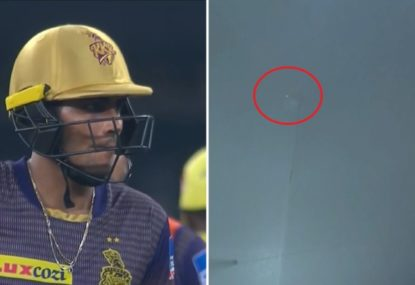 Extremely rare moment in IPL final gifts batsman the luckiest possible escape