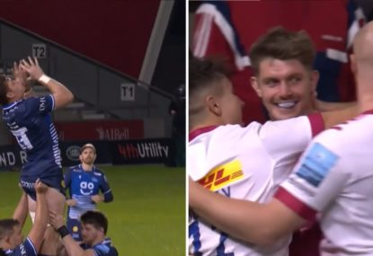 'My goodness!' All-time howler gifts Harlequins try seven SECONDS after half-time kickoff
