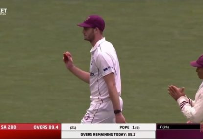 Mark Steketee's SEVEN-wicket reminder to Ashes selectors after demolition of South Australia