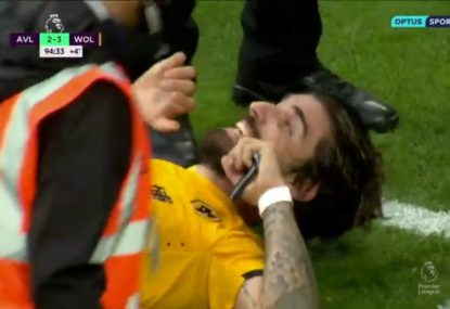 Wolves mount most chaotic of comebacks completed with final kick of the game