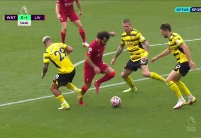 Klopp hails Mo Salah as best in the world after stupendous 'dancing on ice' goal