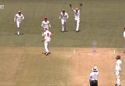 Marnus Labuschagne absolutely filthy after being given out for a perfectly reasonable LBW