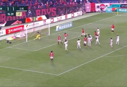 Yep, this J-League player managed to not score from here