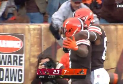Browns rock the NFL with insane 60-yard Hail Mary touchdown