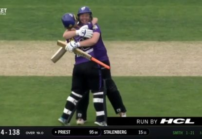 Hobart Hurricanes skipper smashes her way into the WBBL record books with sensational ton