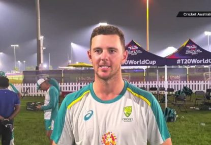 Josh Hazlewood downplays Australia's shocking T20 history