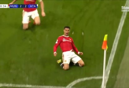 Cristiano Ronaldo completes epic Man Utd CL comeback because of course he does