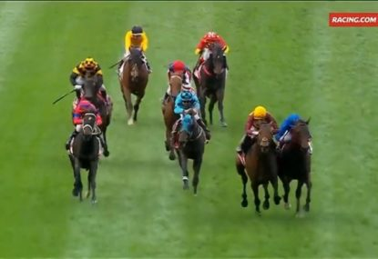WATCH: High drama as the Cox Plate result headed to the Stewards Room after a protest