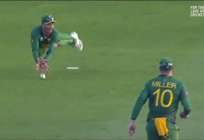 This is how close Australia came to humiliatingly botching simple run chase