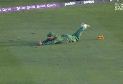The epic catch that nearly sparked a miraculous South African win