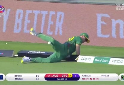 Did a third umpire blunder cost Steve Smith a boundary?