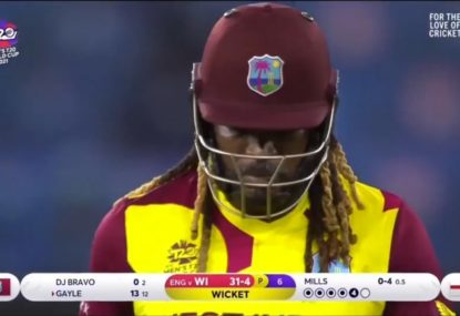 'Brainless batting' from the West Indies sees them rolled for just 55 runs