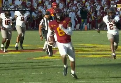 Fun police rob college footballer of a touchdown for the most ludicrous reason