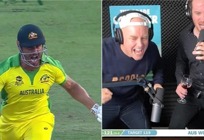 LANGUAGE WARNING: The Grade Cricketer's call of the last over vs South Africa is just perfect