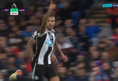 A stunning overhead kick goal rescues a point for Newcastle