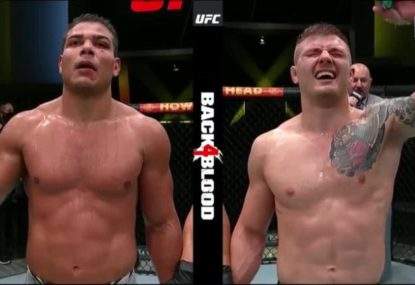 'He's a c--t': UFC fighter's savage spray for opponent after win