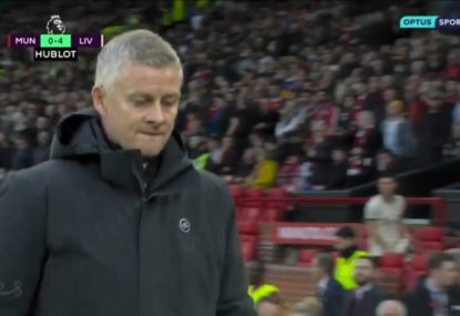 United manager booed into Old Trafford sheds as 'house of horrors' gets even scarier