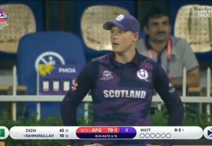 Commentators roast Scotland fielder's commitment after missing a catch opportunity