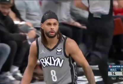 'He's not human': USA goes nuts as Patty Mills pulls off sneaky steal