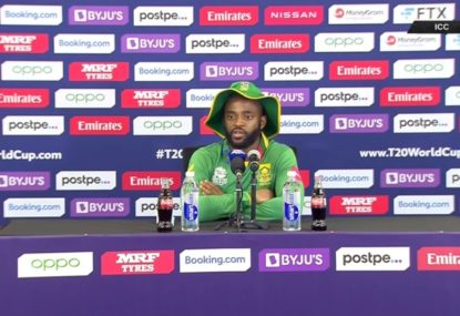 South African skipper addresses Quinton de Kock's controversial withdrawal from T20 World Cup game