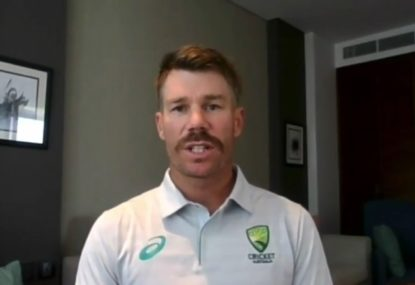 David Warner talks about form, racism and Ben Stokes' Ashes inclusion
