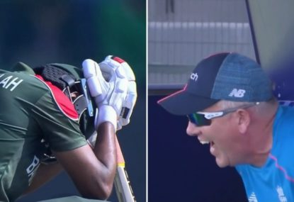 Two very contrasting reactions after the T20 World Cup produces another disastrous run out