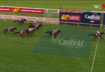 WATCH: Incentivise claims the Caulfield Cup with 'extraordinary' run