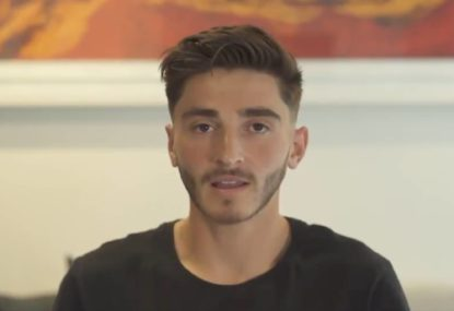 'I've had to mask my feelings': A-League player comes out as gay in emotional social posts